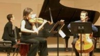 Con­ver­sa­tions (Faces) was per­formed Decem­ber 4, 2005 at Mannes Col­lege of Music's Con­cert Hall. Julia Dus­man was the pianist, Ana Milosavjle­vic played vio­lin, and Nick Din­ner­stein on cello rounded out...