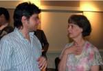 with soprano Elizabeth Berkowitz