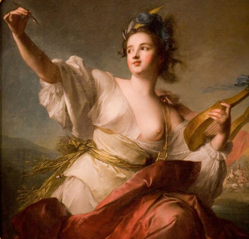 Terpsichore, the muse of music