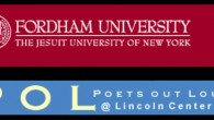 "Founded in 1992, Ford­ham University's Poets Out Loud is charged with the mis­sion ""…to bring a pub­lic audi­ence to Fordham'Äôs Lin­coln Cen­ter cam­pus and to fos­ter the appre­ci­a­tion, cre­ation, and […]"