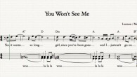 "The Beatles's song, ""You Won't See Me,"" teaches what is meant by active listening."