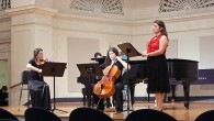 I was very pleased to wel­come some new inter­preters of my music this past week­end, Feb­ru­ary 19. Sofia Dim­itrova, soprano, and her sis­ter, Stanichka Dim­itrova, vio­lin, have per­formed my music...