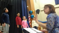 """Cupid's Bow"" is a new, orig­i­nal musi­cal with book and lyrics by Emily Thomp­son and music by Richard D. Rus­sell. On Jan­u­ary 30, a spe­cial rehearsal was held by the..."