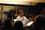 "introducing ""Adagio for Strings"" at Bargemusic"