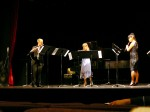 "Jonathan Engle, Mary Barto, and Aki Kasuga perform ""Three States of Water"""