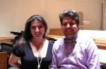 with soprano Sofia Dimitrova