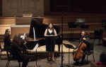 Sofia Dimitrova performs with Glass Farm Ensemble