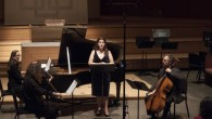 I have posted videos on my YouTube chan­nel and on the video sec­tion of my web­site for some of my recent performances. First is the song cycle for soprano and […]